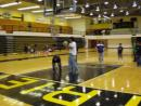 Playing in the UMBC Gym