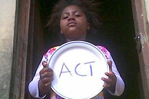 Activista Nigeria by: Esther Agbarakwe.