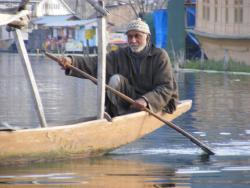 Srinagar in the Spring of 2009