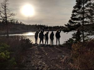 Pathfinders Lake Cleanup!