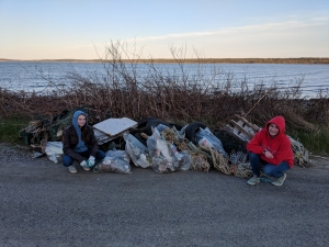 Port Morien Sandbar Great Canadian Shoreline Cleanup!