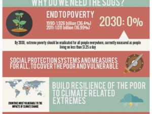 Poverty & Development Infographic