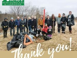 Nature NL Shoreline Cleanup