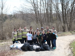 Earth Day Clean-Up at Humber River, ON