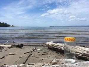 Nurdles featuring Ashburton Bay (Lake Superior)