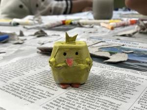 Teaching children sustainability through art