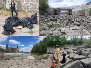Semaine Des Océans : Nettoyage des déchets Canal de Lachine / / Oceans Week: Garbage Clean-Up Lachine Canal